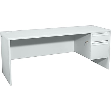 HON 38000 72in. x 24in. Right Single Pedestal Credenza
