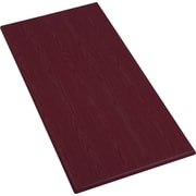 Iceberg OfficeWorks 30'' x 60'' Rectangular Table Top, Mahogany