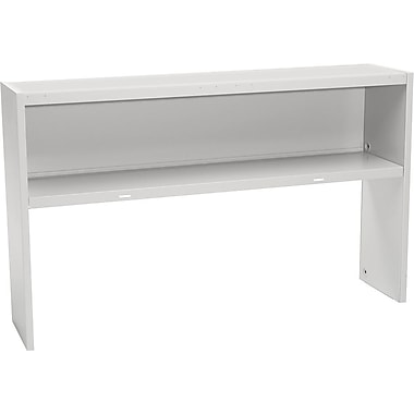 HON 60in. Stack-On Open Shelf Units, Gray
