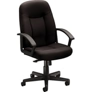 basyx by HON HVL601 Mid-Back Task/Computer Chair for Office and Computer Desks, Black