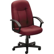 basyx by HON HVL601 High-Back Task/Computer Chair for Office and Computer Desks, Burgundy