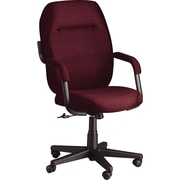 Global® Commerce Series High-Back Burgundy Fabric Chair