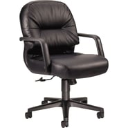 HON 2092SR11T Manager's Chair, Black