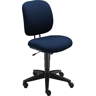 HON® Comfortask® Fabric Swivel/Tilt Low-Back Task Chair, Blue