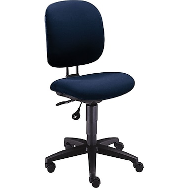 HON ComforTask Computer Chair for Office and Computer Desks, Navy Fabric