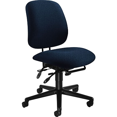 HON® 7700 Series Armless Manager's Chairs with Seat Glide