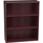HON® 10700 Series, 3-Shelf Bookcase, Mahogany