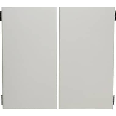 HON 38000 Series 60in. Flipper Doors, Light Gray