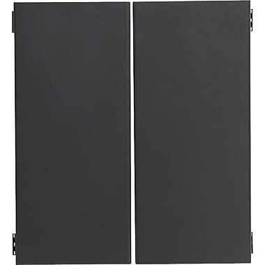 HON 38000 Series 72in. Flipper Doors, Charcoal