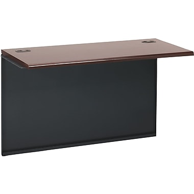 HON 38000 Series Bridge, Mahogany/Charcoal