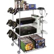 Atlantic® 4-Tier Wire Gaming Tower, Silver