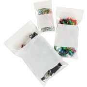 "Staples® Resealable Poly Bags, 4"" x 6"""