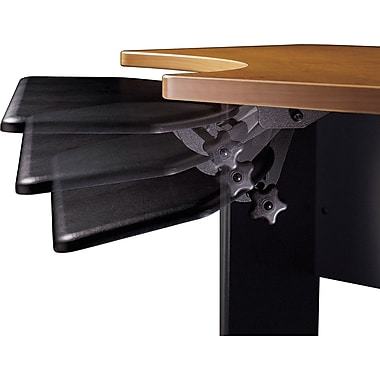 Bush Universal Articulating Keyboard Tray, Black