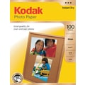 Kodak Photo Paper, 8 1/2in. x 11in., Gloss, 100/Pack