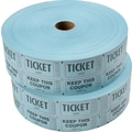 Staples Double Ticket Roll, 2 Rolls