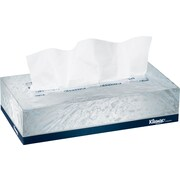 Kleenex® Flat Box Facial Tissues, 2-Ply, White, 100 Tissues/Bx