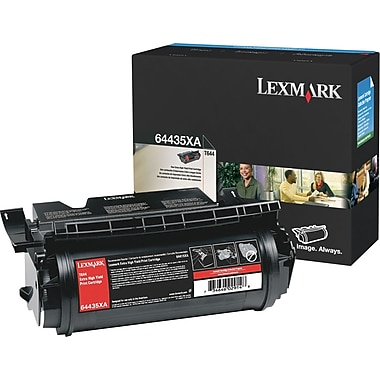 Lexmark T644 Black Toner Cartridge (64435XA), Extra High Yield
