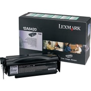 Lexmark 12A8420 Black Return Program Toner Cartridge