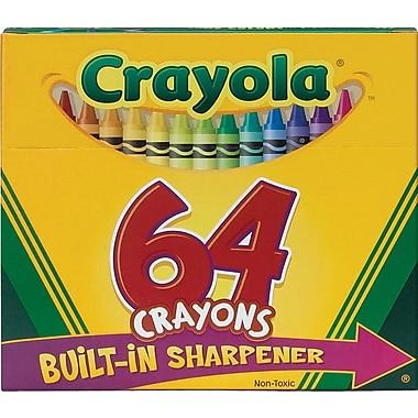 Crayola Crayons, 64/Box