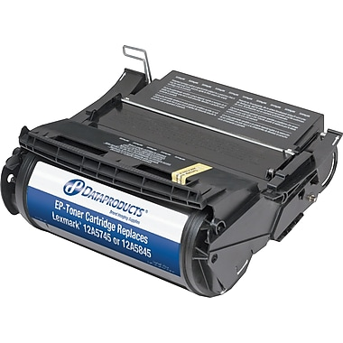 DP Reman Black Toner Cartridge, Lexmark Optra T (12A5745/840/845)