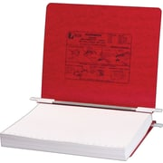 Acco® Hanging Data Binders Presstex® Cover, Executive Red, 11 x 8 1/2