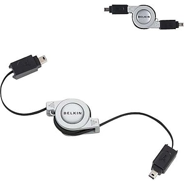 Belkin Retractable FireWire Cable (4-pin/4-pin), 2.6 ft.