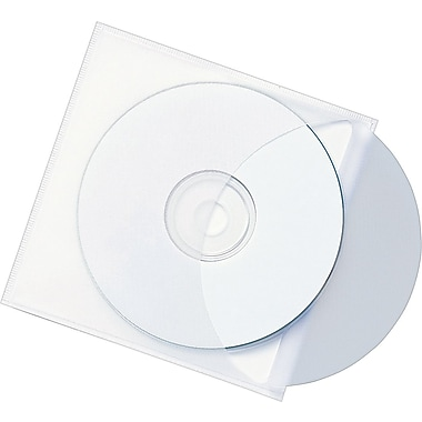 Smead® Self-Adhesive Vinyl CD Pockets