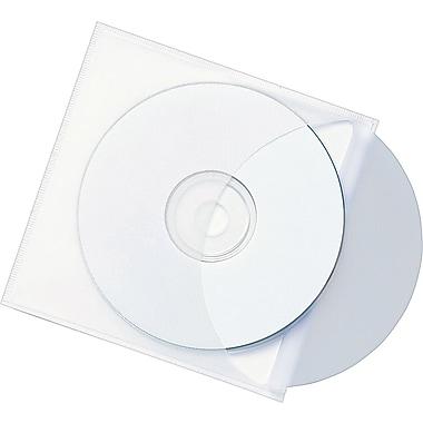 Smead® Self-Adhesive Vinyl CD Pockets