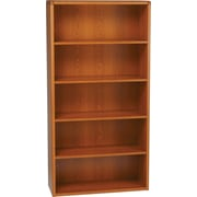 HON® 10700 Series, 5-Shelf Bookcase, Henna Cherry