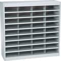Safco® EZ STOR Literature Organizer, 36 Compartment, 37 1/2in.x 12 3/4in.x 36 1/2in., Gray