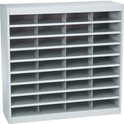 "Safco® EZ STOR Literature Organizer, 36 Compartment, 37 1/2""x 12 3/4""x 36 1/2"", Gray"