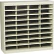 Safco® EZ STOR Literature Organizer, 36 Compartment, 37 1/2in.x 12 3/4in.x 36 1/2in., Tropic Sand