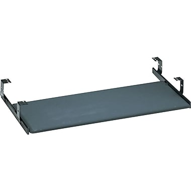 Bush Universal Fully Assembled Keyboard Shelf, Black