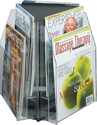 Safco Reveal Magazine Tabletop Display 657183