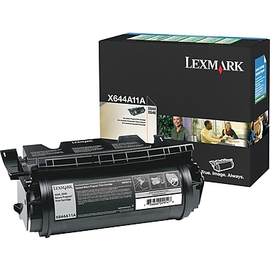 Lexmark X644A11A Black Return Program Toner Cartridge
