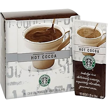 Starbucks® Gourmet Hot Cocoa, 1.25 oz., 24 Packets