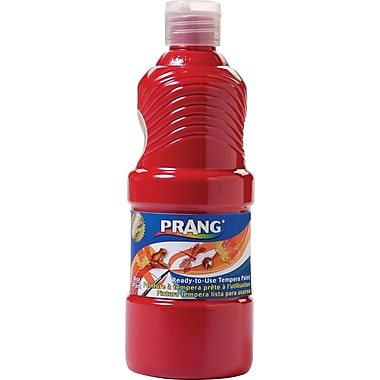 Prang Tempera Paint, 16 oz, Red