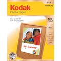 Kodak Photo Paper, 8 1/2in. x 11in., Matte, 100/Pack