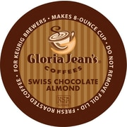 Keurig® K-Cup® Gloria Jean's® Swiss Chocolate Almond Coffee, Regular, 24/Pack