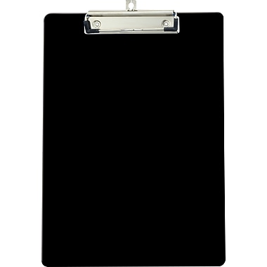 OIC® Recycled Clipboard, Letter Size, Black