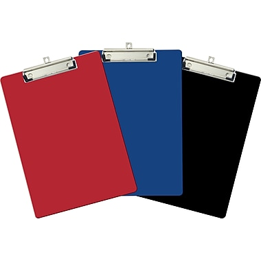 OIC® Recycled Clipboards, Letter Size, 9in. x 12 1/2in.