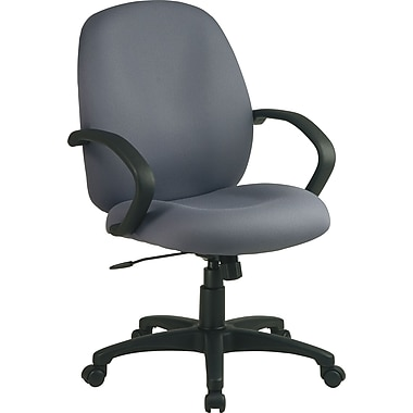 Office Star Distinctive Fabric Conference Room Chair, Gray