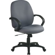 Office Star™ Distinctive Fabric Conference Room Chair, Gray