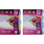 Avery® Durable Poly Write-On Tab Dividers