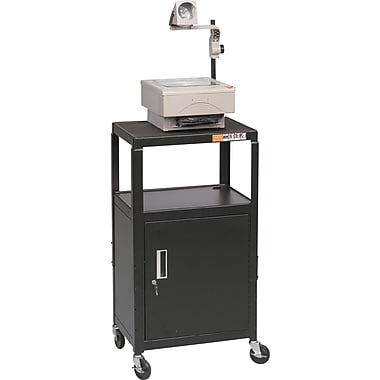 Balt® Utility Cart with Locking Cabinet
