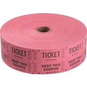 Staples® Double Ticket Roll, 1 Roll
