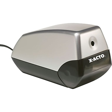 X-ACTO Helix 1900 Electric Pencil Sharpener  Silver