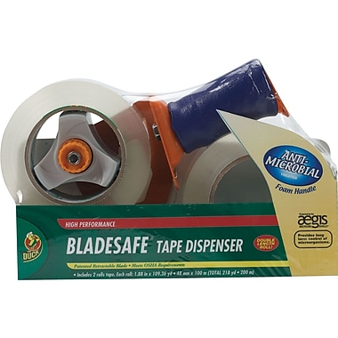 Duck® Bladesafe™ Packaging Tape Dispenser w/ Tape