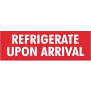 Tape Logic Refrigerate Upon Arrival Staples® Shipping Label, 4 x 1-1/2, 500/Roll