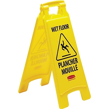 Rubbermaid® Wet Floor Sign